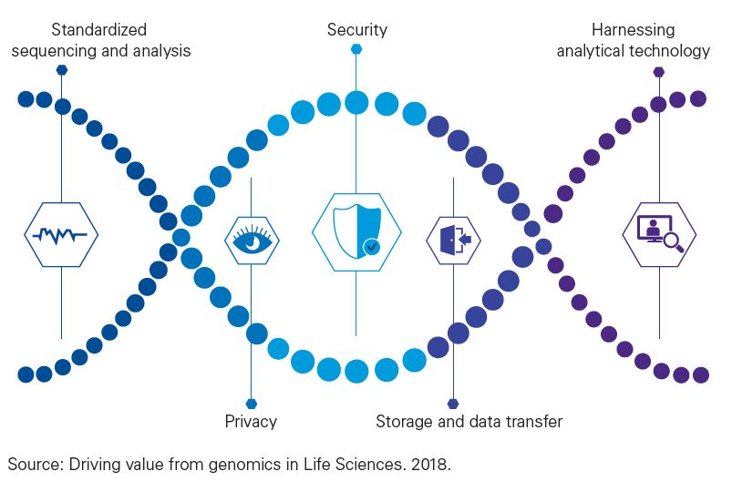 Driving value from genomics in life sciences