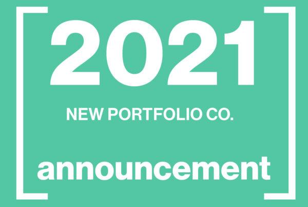 new portfolio announcement 2021